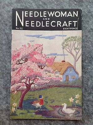 Needlewoman And Needlecraft Magazine No.22 April 1945