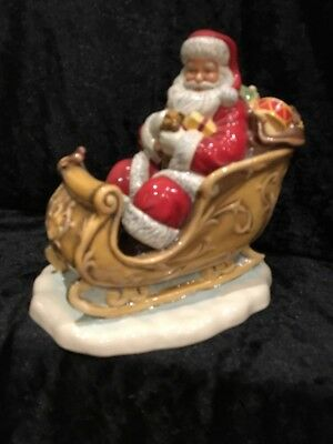 Royal Doulton Father Christmas, Santa's Sleigh,  HN5689