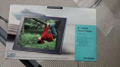 SANDSTROM Digital Photo Frame 8inch unopened from new