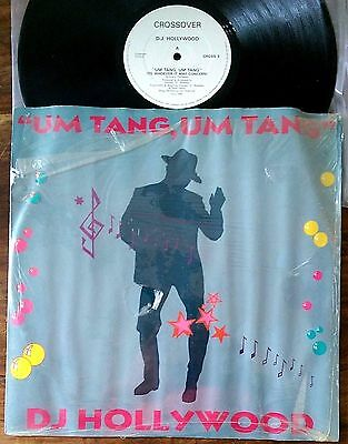 "DJ Hollywood‎–""Um Tang,Um Tang (To Whoever It May Concern)"" Original 1986 UK 12"""