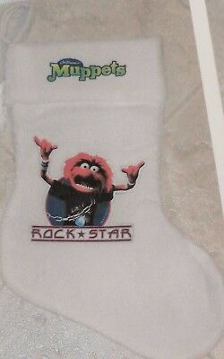 Animal Rock Star Christmas Stocking The Muppets Jim Henson