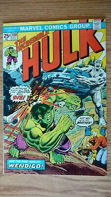 The Incredible Hulk #180 (Oct 1974) 1st Brief Appearance of Wolverine F/VF