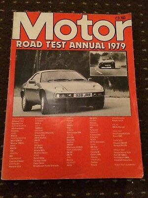 Motor Road Tests Annual Magazine 1979