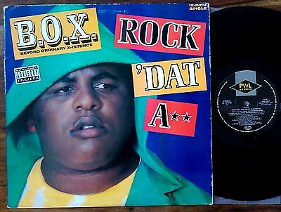 "B.O.X. ‎– ""Rock 'Dat A**"" Original 1991 US 12"""