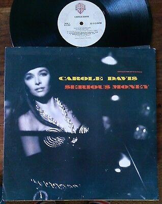 "Carole Davis‎–""Serious Money"" Original 1989 US 12"""