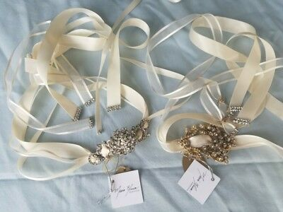 New Maria Elena Headpiece 2 cintas, never used, new with tags