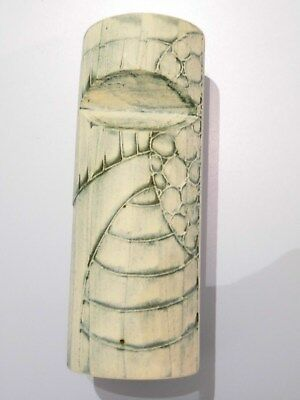 CARN POTTERY VASE Penzance Cornwall studio floral/abstract