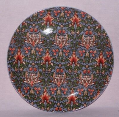 Dunoon, Fine bone china, 20cm plate, Snakeshead, after a William Morris design