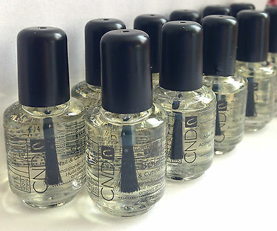 CND SOLAR OIL Nail & Cuticle Conditioner 3.7ml Bottle!!! x40