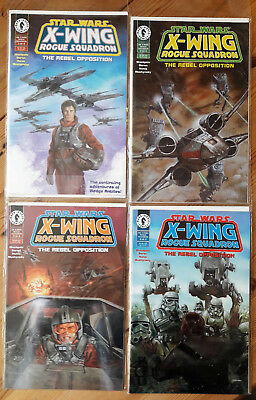 STAR WARS Comic / X-Wing Rogue Squadron / The Rebel Opposition 1-4 (1995)