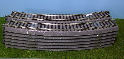 ROCO GEOLINE ~ 6 x CURVED TRACK SECTIONS # 61123
