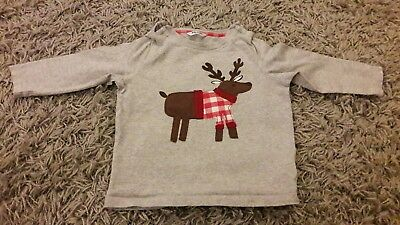 baby Boden Christmas top age 12-18 months
