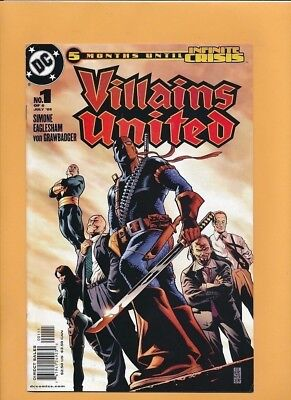 Villains United (2005) 1-6 + Special 1 VF+ to NM