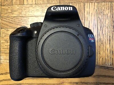 Canon EOS Rebel T5 18.0MP Digital SLR Camera Extra Battery- Black (Body Only)