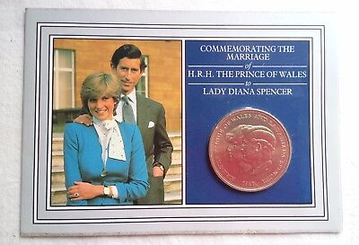 1981 Royal Mint commemorative Crown Celebrating the marriage of Charles & Diana