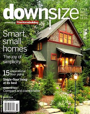 Fine Homebuilding: DOWNSIZE Magazine ~ Floor Plans ~ Different Small Homes ~ NEW