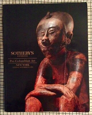 Catalogue Vente Sotheby's New-York - Pre-Columbian Art - 1994