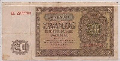 (N1-54) 1908 Germany 20 marks bank note (54BD)