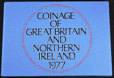 Proof Coinage of Great Britain and Northern Ireland 1977