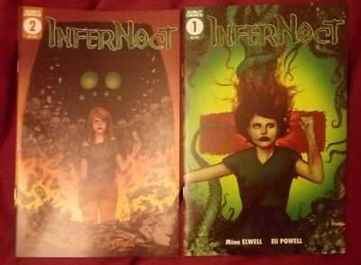 Infernoct #1 #2 Scout Comics NM