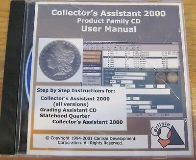 Collector's Assistant & Coin Inventory Software