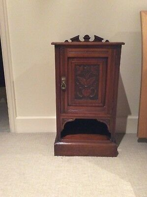 Fine Condition Edwardian Mahogany Pot Cupboard