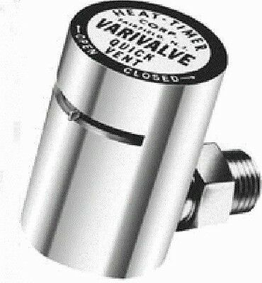 Heat-Timer Varivalve Adjustable Steam Radiator Air Vent Angle  1/8 Npt