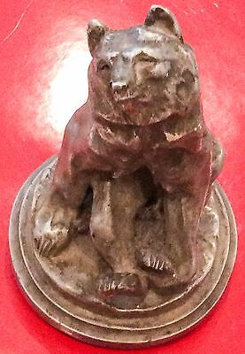 Sitting Dancing Baloo The Bear Sculptre Statue Can Be Used As A Cast