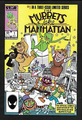 Muppets Take Manhatten #1 Nm 9.6-White Pages-  Marvel 1986