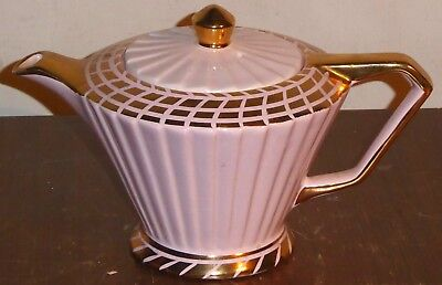Superb vintage Sadler art Deco style teapot