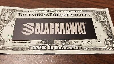 Buy One Get One Free - BLACKHAWK Tactical HOLSTERS DECAL STICKER FIREARM GUN