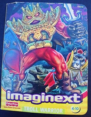 Fisher Price Imaginext Troll Warrior New