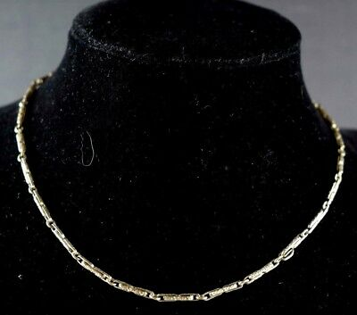 1910-20's Art Deco 1/10 14K Filled Necklace Fabulous! N108