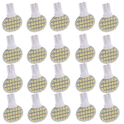 20 x Super Bright 4.8w T10 921 6000k White RV Interior 24SMD LED Light Bulbs 12v