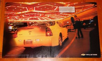 Sweet 2003 Chevy Monte Carlo In Yellow & Casino Ad / American Auto Chevrolet