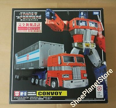Takara Tomy Transformers Masterpiece Mp-10 Optimus Prime Mp10 Commander