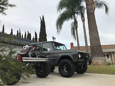 1969 Ford Bronco Sport 1969 Ford Bronco just finished in 2018 ford raptor lead foot grey