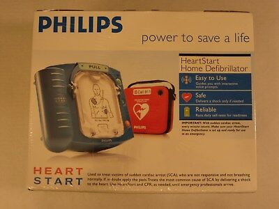 Philips HeartStart Home Defibrillator AED and Training Pads -NIB- FREE SHIPPING