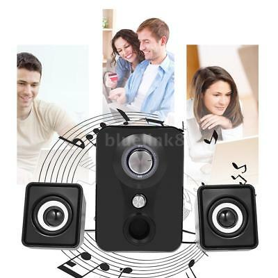 Portable Wired USB Mini Speaker Stereo Subwoofer Sound Box For Desktop Laptop PC