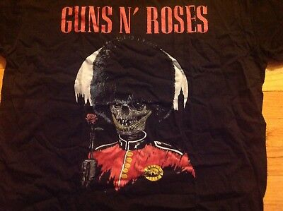 Guns N Roses London Stadium 2017 Rare Tour Shirt XL