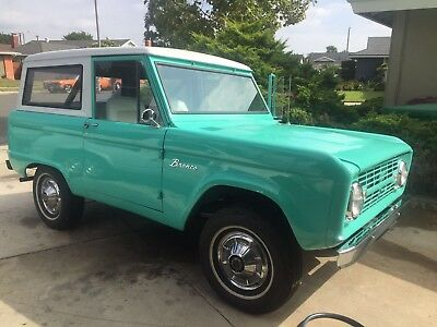1966 Ford Bronco  Period Correct uncut just finished