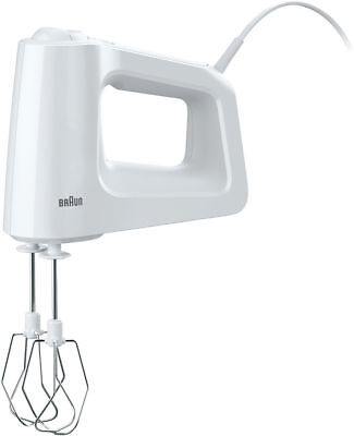 NEW (No Box) Braun HM3135 MultiMix 3 Hand Mixer (Only Mixer and 2 whisks)
