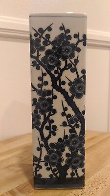 """Beautiful Japanese Vase - 3"""" long 3"""" wide and 9.5"""" high"""