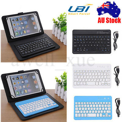 Universal 7'' Wireless Bluetooth Keyboard For iPad Tablet Windows Android IOS