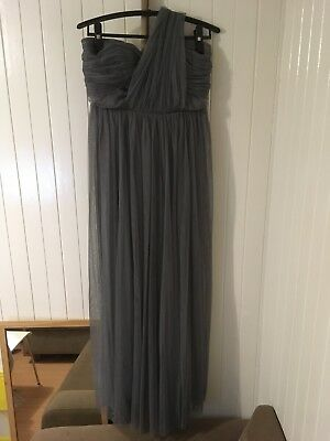 Bride Mate/Wedding/ Option For Maternity Dress Pregnancy Clothes/Grey Size 10