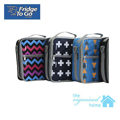 Fridge To Go Medium Insulated Lunch Bag With Cooler Block