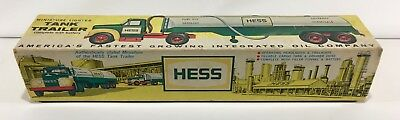 1964-65 Hess Tanker Toy Truck - - - Box Only - - -  No Truck - - - Free Shipping