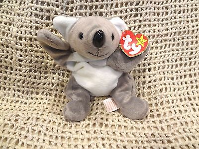 TY BEANIE BABY ~ MEL THE KOALA BEAR 1996 PLUSH TOY RETIRED MINT ~ NEW with TAG