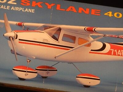 "Light Fiberglass ARF Cessna 182 ""Skylane"" 40 by CMPro - NEW lower shipping costs"
