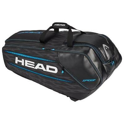Head Speed Zverev 12R Monstercombi Tennis Racquet Bag- Black/Blue